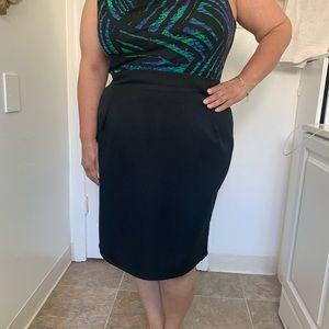 Dresses & Skirts - Plus Size Black Pencil Skirt